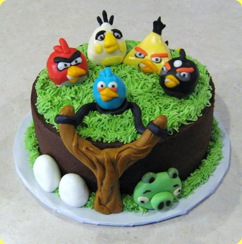 торт angry birds с фото