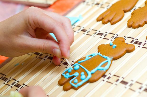 Мастер класс печенье в глазури